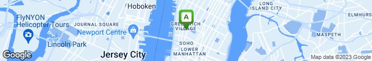 Map of Cornelia Street Cafe