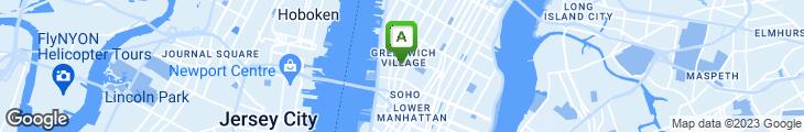 Map of John's of Bleecker Street