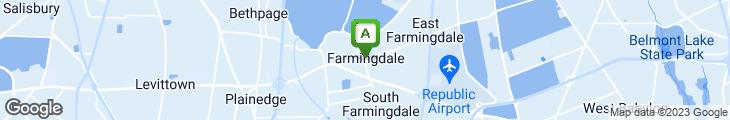 Map of Frankie's Eastside Pizza