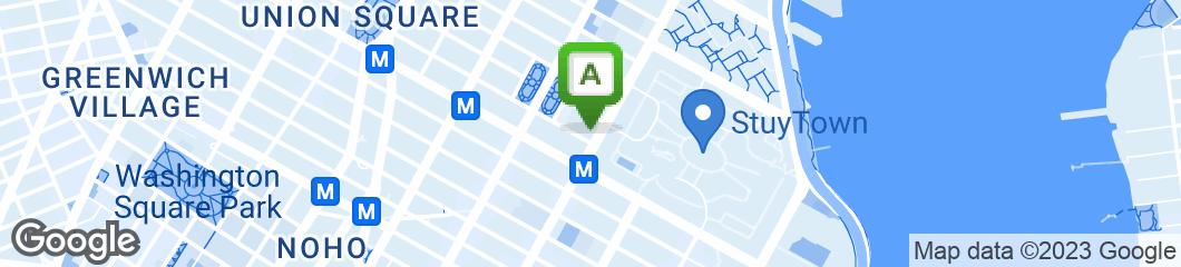 Map of Bagel Boss Cafe of Manhattan