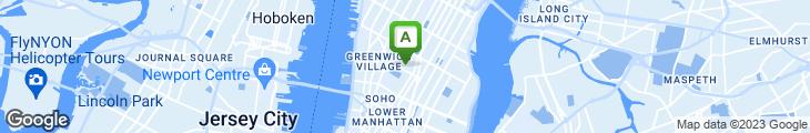 Map of Arte Restaurant