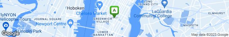 Map of Perbacco NY Food & Wine