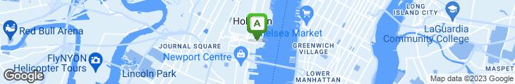 Map of Hudson Street Gourmet