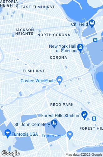 Map of Elmhurst