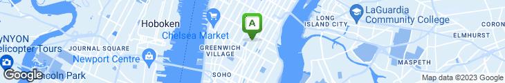 Map of Choshi Japanese Restaurant