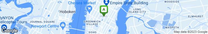Map of Silver Swan Restaurant & Bar