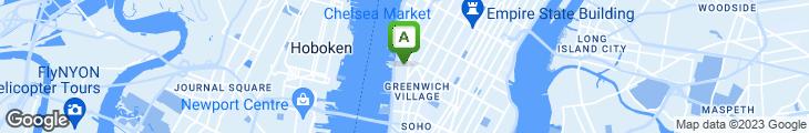 Map of 5 Ninth Restaurant & Bar