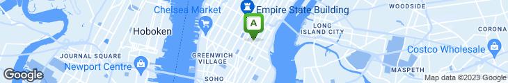 Map of Lyric Diner