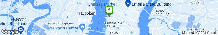 Map of Buddha Bar - New York