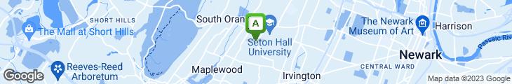 Map of University Sub Shop