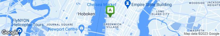 Map of Bill's Bar & Burger