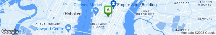 Map of Via Restaurant & Lounge
