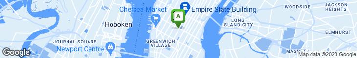 Map of Eisenberg's Sandwich Shop