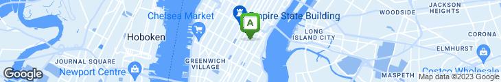 Map of Tonic East