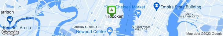 Map of Gaslight Restaurant & Bar