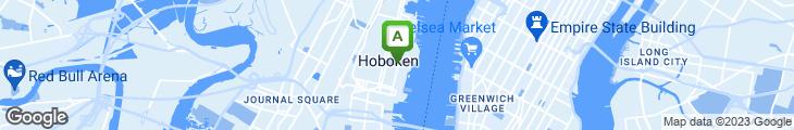 Map of Hoboken Cottage