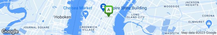 Map of banc cafe