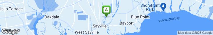Map of Hot Bagels Delox Inc