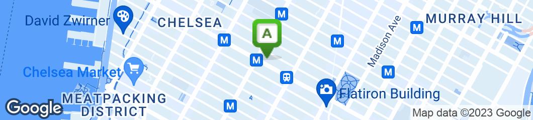 Map of Malibu Diner