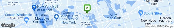 Map of Blue Bay Diner