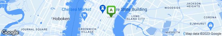 Map of Christina's Ristorante & Cafe
