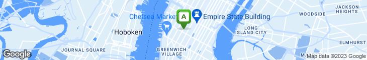 Map of Chelsea Gourmet Deli