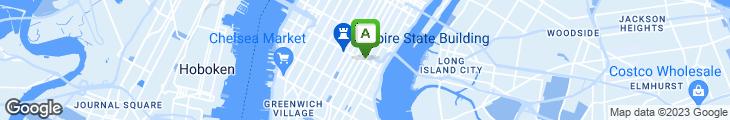 Map of Manhattan Center Market