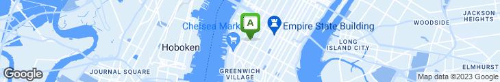 Map of Brooklyn Bagel & Coffee Company