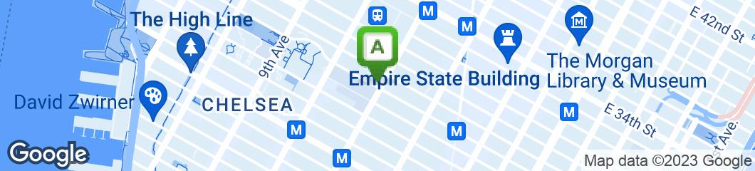 Map of Greek Corner
