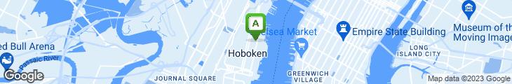Map of Anthony David's