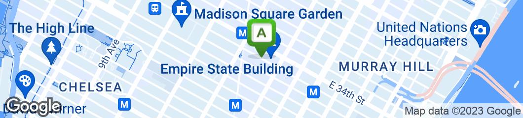 Map of Rae's Delicatessen