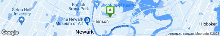 Map of Arlington Pizza