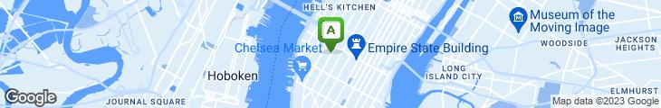 Map of New York Pizza Suprema