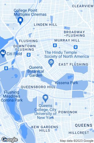 Map of Flushing