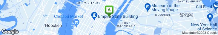 Map of Ashiya V Sushi