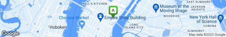 Map of John's Coffee Shop