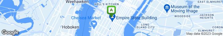 Map of JJ Sushi Cafe