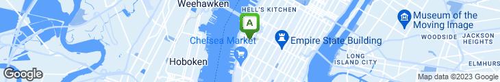 Map of Poppy's Terminal Restaurant