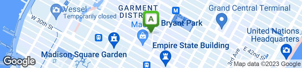 Map of Bravo Pizza