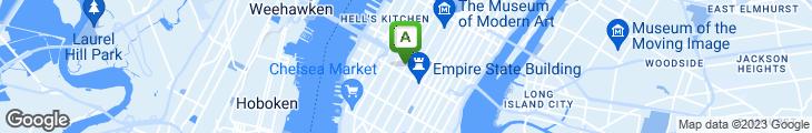Map of Atrium Cafe & Caterer