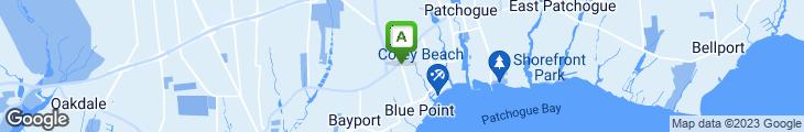 Map of Cavanaugh's