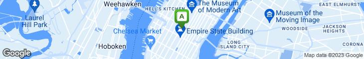 Map of Blaggard's Restaurant & Pub