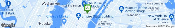 Map of 47th St. Convenience Deli