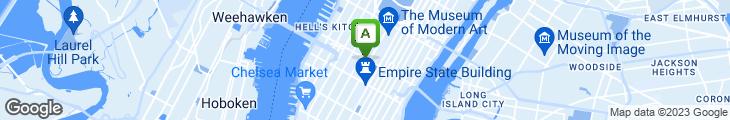 Map of Cafe O