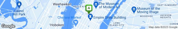 Map of Sunrise Delicatessen