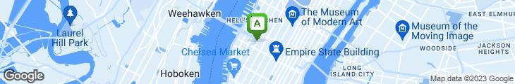 Map of Manganaro's HeroBoy