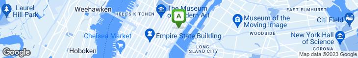 Map of The Metropolitan Cafe