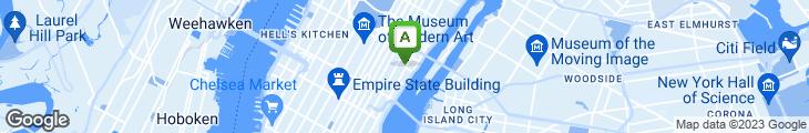 Map of Madison Restaurant