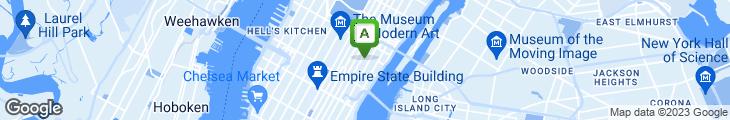 Map of Tanaka Sushi