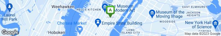 Map of Nikki Beach Midtown